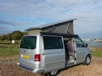 Overlooking estuary to Chichester Fishery Creek Campsite, Hayling Island(Click here to view the full image)